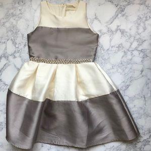 BTWEEN Girls Pearl Ruffle Dress